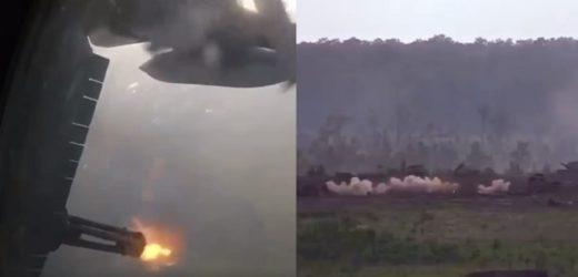 Знищили 300 «їхтамнетів» за декілька хвилин: В мережі зявилось відео літаючої батареї США (ВІДЕО)