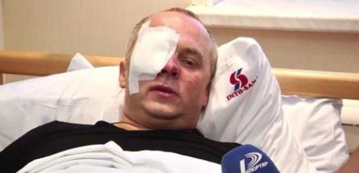 Є в Україні одна забава: бити Шуфрича. Так ось сьогодні її відновили (ВІДЕО)