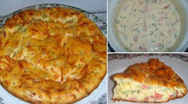 Швидкий пиріг до сніданку! Незрівнянно смачна і ситна закуска для всієї родини!