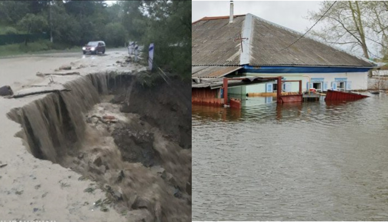 Люди в розпачі! Це страх, який не передати словами! Через сильні зливи село на Прикарпатті пішло під воду…
