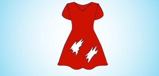 Простий тест на кмітливість: Скільки дірок в цій сукні?