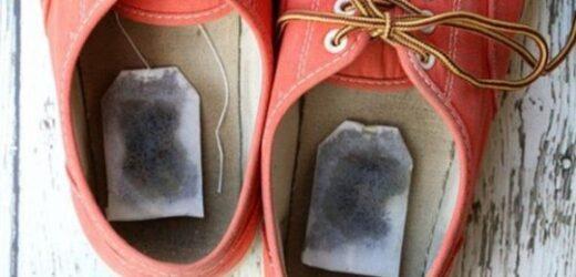 Коли ти дізнаєшся, навіщо вона поклала чайний пакетик в взуття, зробиш так само!