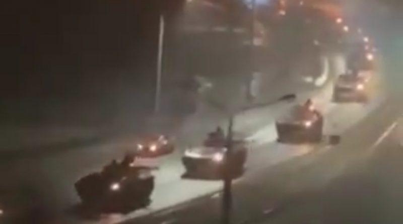 Почалося… Путін задумав страшне..Цілу ніч колонами йшла російська військова техніка поблизу кордону..