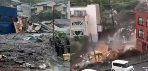 Люди в жаху тікають після трагічного ранку суботи: Через сильний дощ стався зсув ґрунту: зруйновано будинки, десятки зниклих, є загиблі (фото)