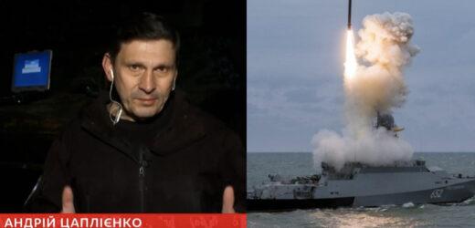 """Всього одним залпом може спалити весь флот РФ: Цаплієнко показав """"страшний сон"""" Кремля, який прибув в Чорне море – есмінець Ross"""