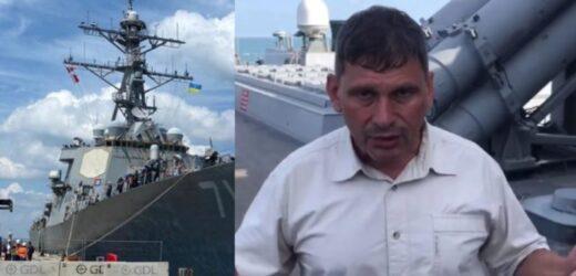 """Він всього одним залпом може спалити весь флот РФ: Цаплієнко показав """"страшний сон"""" Кремля, який прибув в Чорне море – есмінець Ross"""